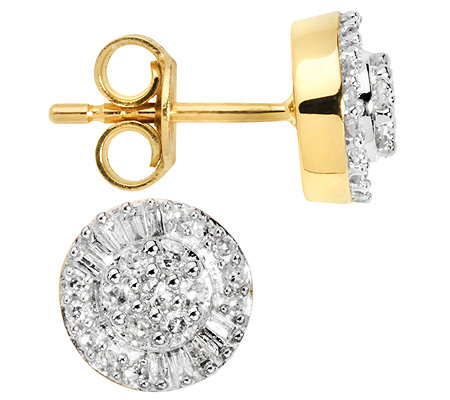 GLAMOUR DIAMONDS 54 Diamanten zus.ca.0,30ct. Ohrstecker Gold 585