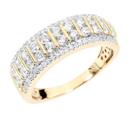 CANADIAN DIAMONDS 72 Diamanten zus.ca.0,75ct feines Weiß/SI2 Ring, Gold 750
