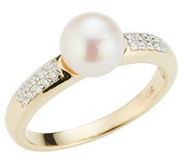 AKOYA Ring Zuchtperle Brillante - 653660