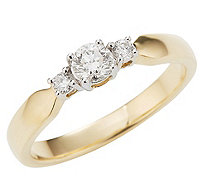 Ring 10 Brillanten - 611863