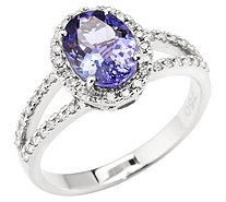 Ring Tansanit Brillanten - 606966