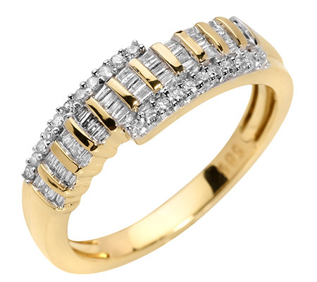 GLAMOUR DIAMONDS 66 Diamanten zus.ca.0,33ct. Ring Gold 585
