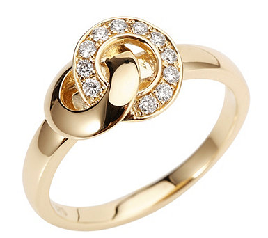 Ring 11 Brillanten - 611279