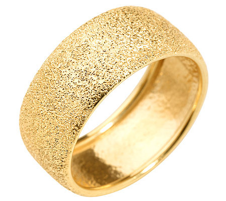 VERONESE COLLECTION Silber 925 Bandring diamantiert 18K vergoldet
