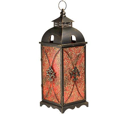 elambia flammenlose kerze timerfunktion mosaiklaterne h he ca 63cm page 1. Black Bedroom Furniture Sets. Home Design Ideas