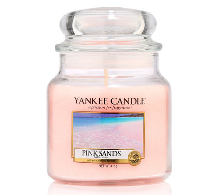 yankee candle duftkerze pink sands brenndauer ca 65 90h 411g page 1. Black Bedroom Furniture Sets. Home Design Ideas