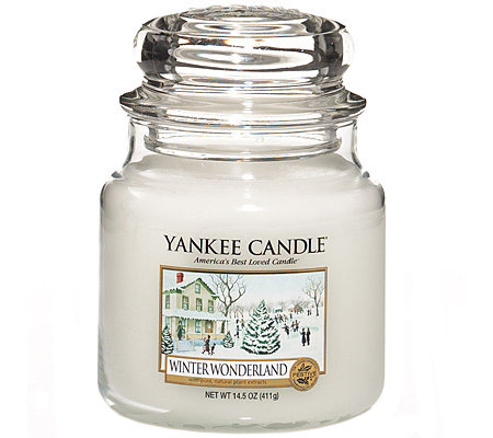 YANKEE CANDLE Duftkerze im Glas Winter Wonderland 65-90Std. 410g