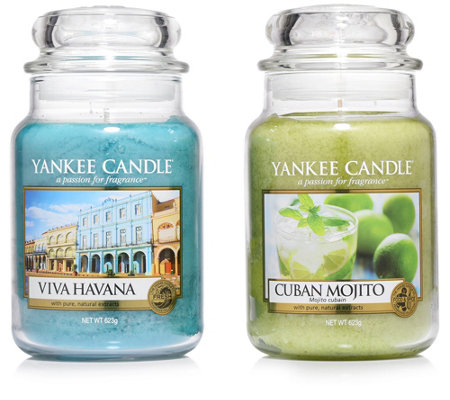 yankee candle duftkerzen cuba edition brenndauer 110 150h 2tlg je 623g page 1. Black Bedroom Furniture Sets. Home Design Ideas