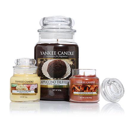 yankee candle duftkerzen set food spice 2 gr en 104 623g 3tlg page 1. Black Bedroom Furniture Sets. Home Design Ideas