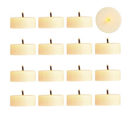 elambia flammenl teelichter glimmdocht timer 16 st ck. Black Bedroom Furniture Sets. Home Design Ideas