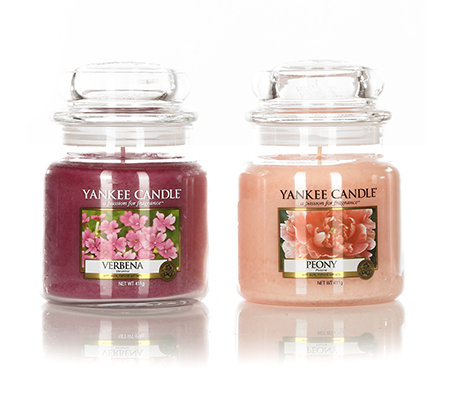 yankee candle duftkerzen set peony verbena brenndauer 65 90h je 411g 2tlg page 1. Black Bedroom Furniture Sets. Home Design Ideas