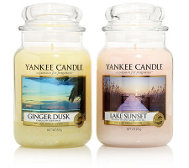 YANKEE CANDLE Duftkerzen-Set Sunset Dreams Brenndauer 110-150h je 623g, 2tlg.