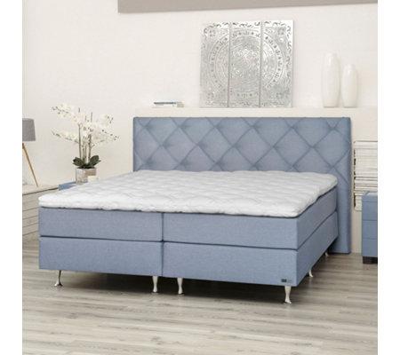 bodyflex boxspring bett gloria serie classic designkopfteil inkl viscotopper page 1. Black Bedroom Furniture Sets. Home Design Ideas