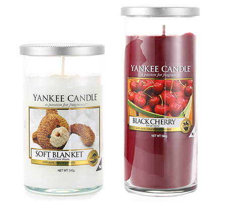 YANKEE CANDLE Duftkerzen-Set Delicious Décor Tumblerglas 2-tlg.