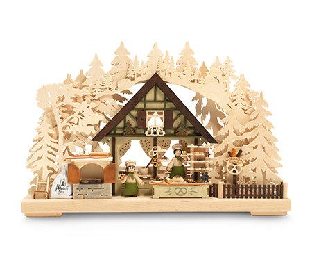 ratags erzgebirge 3d schwibbogen weihnachtsb ckerei h ca. Black Bedroom Furniture Sets. Home Design Ideas
