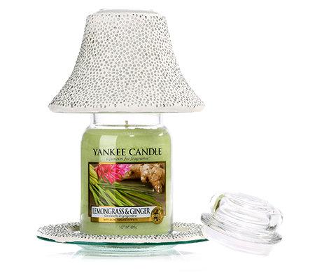 yankee candle duftkerzen set lemongrass inkl accessoires. Black Bedroom Furniture Sets. Home Design Ideas