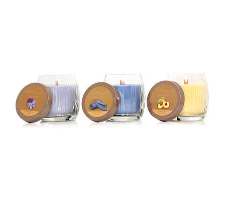 YANKEE CANDLE Pure Radiance Knisterdocht Brenndauer 45-60h je 283g, 3-tlg.