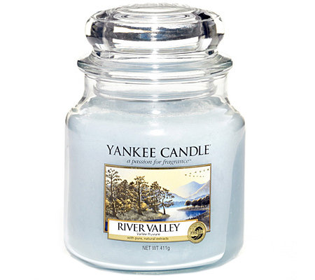 YANKEE CANDLE Duftkerze im Glas River Valley ca. 65-90h 411g