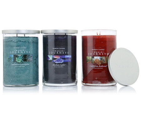 yankee candle duftkerzen set world journey brenndauer je ca 85h je ca 623g 3tlg page 1. Black Bedroom Furniture Sets. Home Design Ideas
