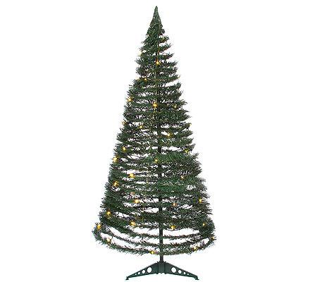 weihnachtsbaum mit led beleuchtung faltbar. Black Bedroom Furniture Sets. Home Design Ideas