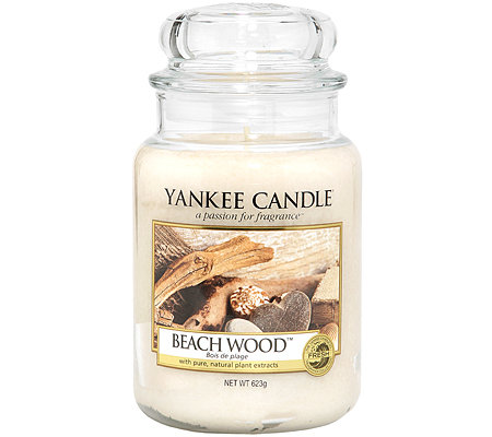 YANKEE CANDLE Duftkerze im Glas Beach Wood 100-150 Std. 623g