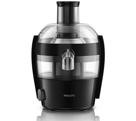 PHILIPS Viva Collection Entsafter kompaktes Design 1,5l Kapazität