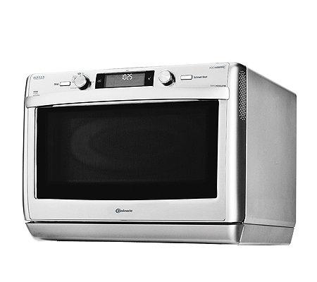 bauknecht mikrowelle crisp system und assisted chef. Black Bedroom Furniture Sets. Home Design Ideas