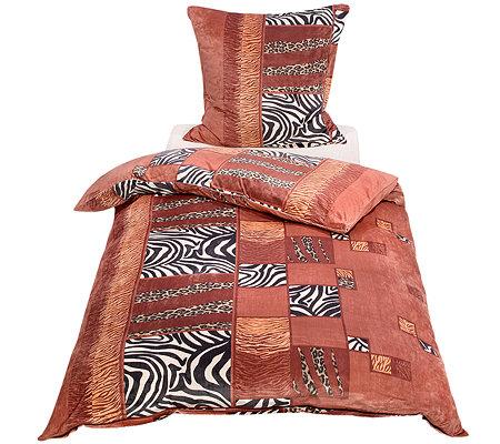 nickymood mikrofaser nicky bettw sche animalkaro einzelbett 3tlg page 1. Black Bedroom Furniture Sets. Home Design Ideas
