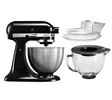 kitchenaid classic k chenmaschine inkl spritzschutz. Black Bedroom Furniture Sets. Home Design Ideas
