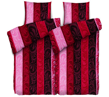 badizio classic mf pl schtrikot bettw sche ornamentstreifen doppelbett 4 tlg page 1. Black Bedroom Furniture Sets. Home Design Ideas