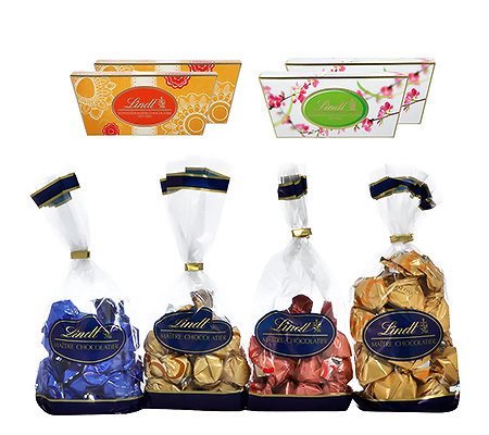 LINDT Mini Fioretto Set Winter 4 Sorten Inhalt 977g