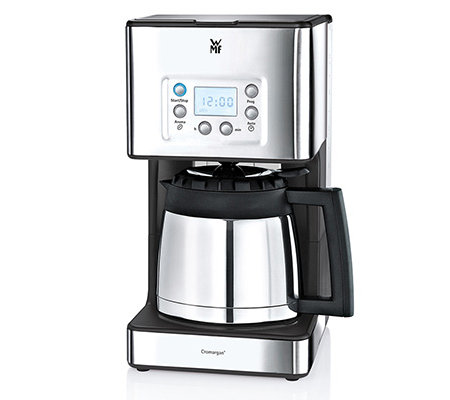 WMF Skyline Cromargan Aroma-Kaffeemaschine mit Thermokanne und LC-Display