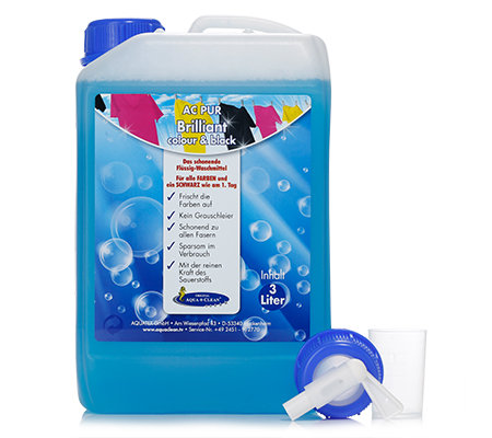 aqua clean pur brilliant fl ssig waschmittel 3l page 1. Black Bedroom Furniture Sets. Home Design Ideas
