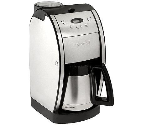 CUISINART Kaffeemaschine mit Mahlwerk 8 Tassen 1000 Watt - Page 1 ... | {Kaffeemaschinen mit mahlwerk 95}