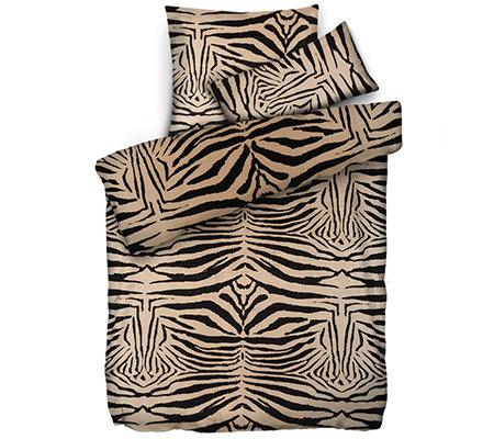 caliara mf pl sch bettw sche zebra muster einzelbett 3. Black Bedroom Furniture Sets. Home Design Ideas