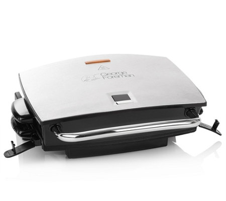 GEORGE FOREMAN Grill & Melt Fitnessgrill Timer, inkl. Kochbuch