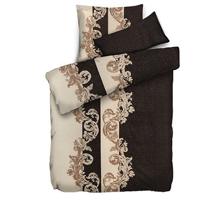polarstern mf flanell fleece bettw sche glitzerornamente. Black Bedroom Furniture Sets. Home Design Ideas