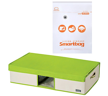 LOCK&LOCK Smartbag Unterbettbox & Large Beutel 2-tlg.