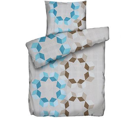 facella mf jacquard optik bettw sche w rfelkreise einzelbett 2 tlg page 1. Black Bedroom Furniture Sets. Home Design Ideas