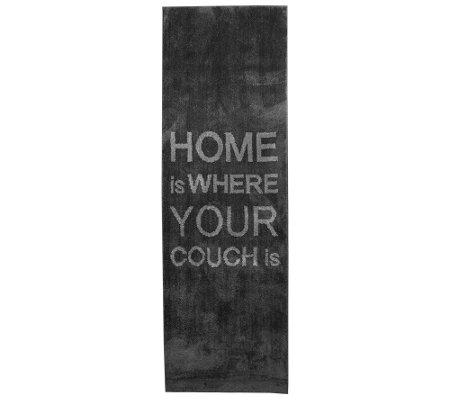 casa fondo mikrofaser l ufer schriftzug ca 80x250cm page 1. Black Bedroom Furniture Sets. Home Design Ideas