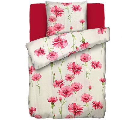 facella mf jacquard optik bettw sche kornblumen einzelbett 3 tlg page 1. Black Bedroom Furniture Sets. Home Design Ideas
