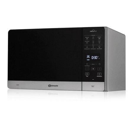 bauknecht mikrowelle grill 800w crisp funktion 25l. Black Bedroom Furniture Sets. Home Design Ideas