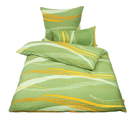 soft wave mf seersucker bettw sche wellen einzelbett 3tlg. Black Bedroom Furniture Sets. Home Design Ideas