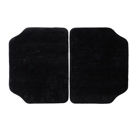 casa fondo mikrofaser 2 autofu matten hinten uni ca. Black Bedroom Furniture Sets. Home Design Ideas