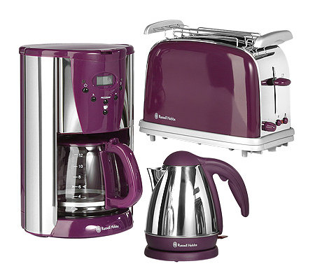 russell hobbs fr hst cks set kaffeemaschine wasserkocher. Black Bedroom Furniture Sets. Home Design Ideas