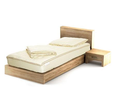 goldwolke mikrofaser betten set 3tlg inkl unterbett nuvolafill page 1. Black Bedroom Furniture Sets. Home Design Ideas