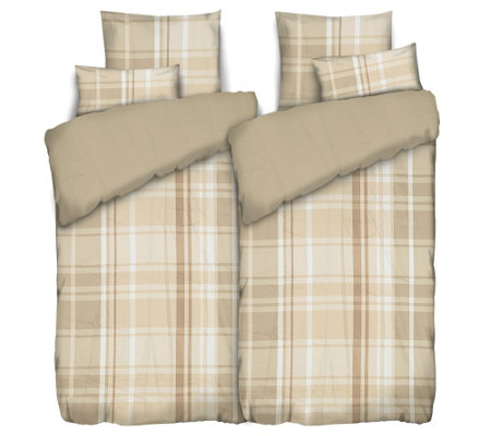 northern nights bw mako satin wendebettw sche karo doppelbett 6tlg page 1. Black Bedroom Furniture Sets. Home Design Ideas