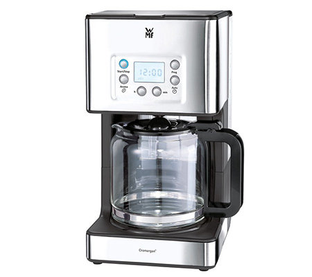 WMF Skyline Cromargan Kaffeemaschine mit Glaskanne & LC-Display