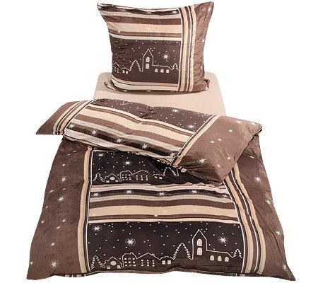 winterengel mikrofaser nicky bettw sche sternenhimmel einzelbett 3tlg page 1. Black Bedroom Furniture Sets. Home Design Ideas