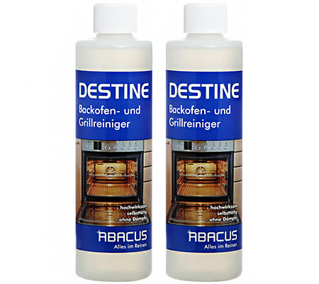 ABACUS Destine Power Grill- & Backofenreiniger 2x 500ml